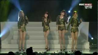 Girl's Day - Don't Forget Me 121210 MBC Sports 2012 Cass Point Awards