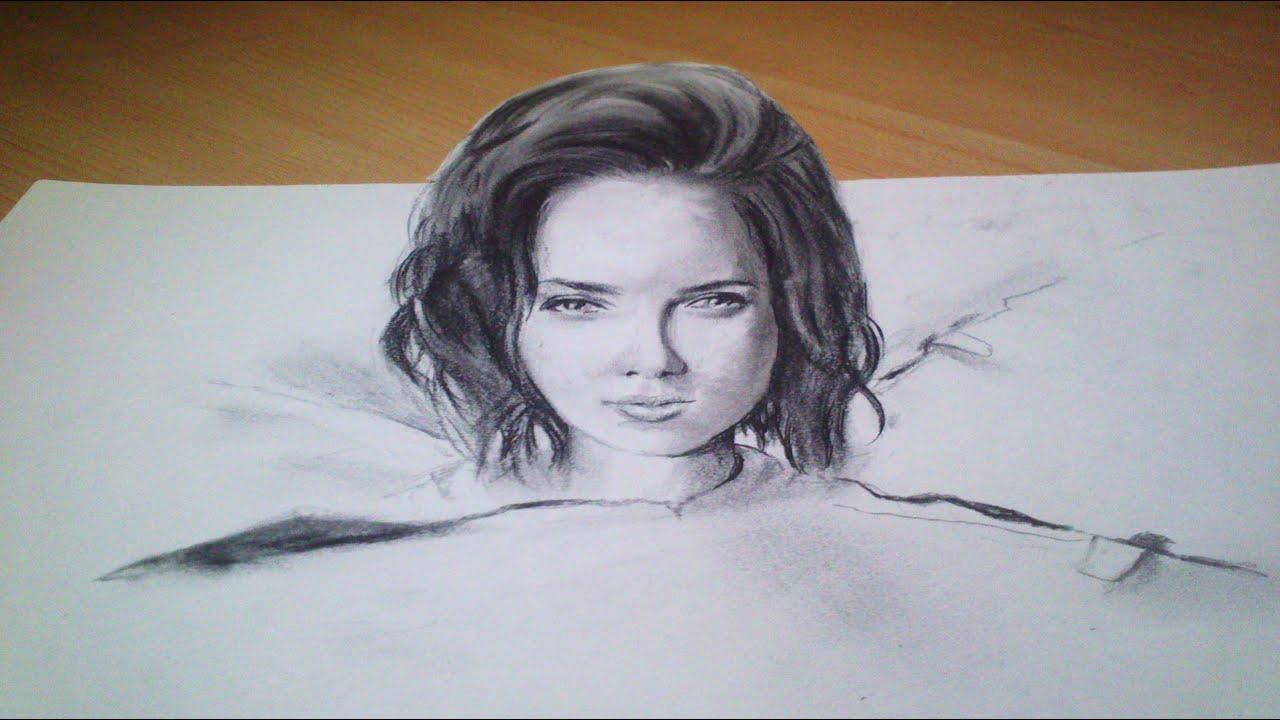 Illusion En 3d Portrait Anamorphique Trompe L œil Youtube