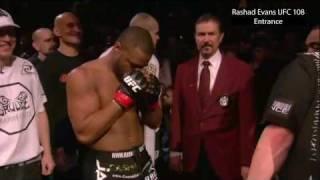 Rashad Evans UFC 108 Entrance