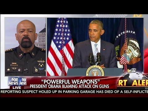 "Sheriff David Clarke: ""War has been declared on Cops, and this is just another ugly chapter"""