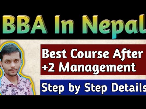 BBA complete information in nepal( in nepali)