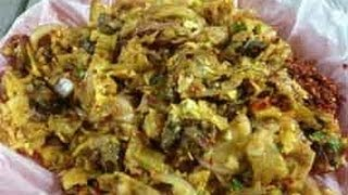 Kotthu Roti - Street Food from Sri Lanka