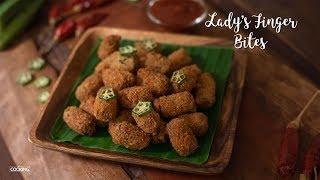 Lady's Finger Bites | Bhindi Bites | Kids Snack