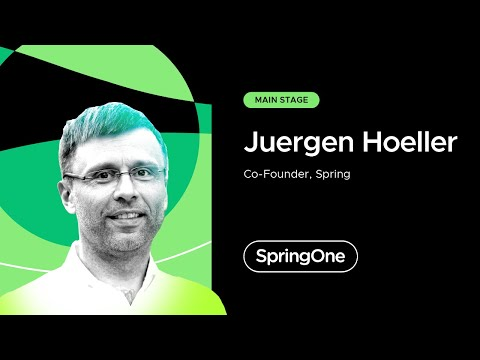 Juergen Hoeller at SpringOne 2021