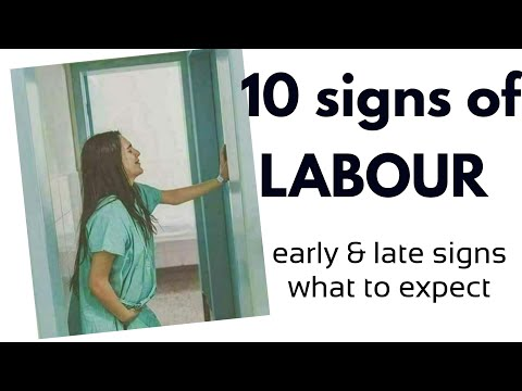 10 signs of Labour ����EARLY & LATE signs |My Doctor