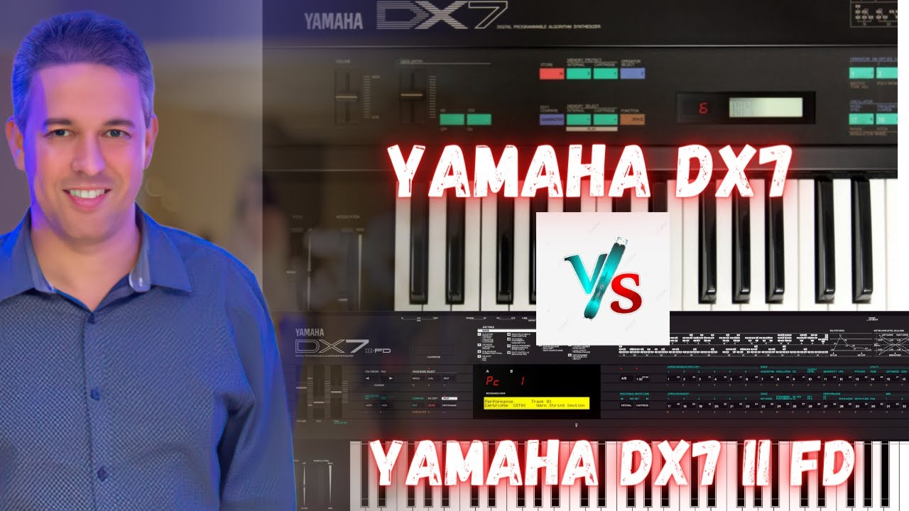 Download YAMAHA DX7  vs  YAMAHA DX7 II FD   LIVE !!!  TIAGO MALLEN - PAPO TECLADISTICO #77