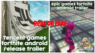 Fortnite android release trailer || Epic games tariler || Tencent games trailer || Hindi Urdu || gam