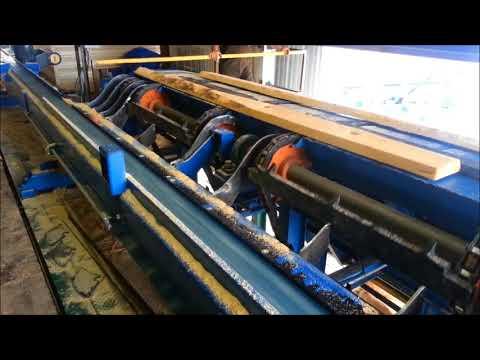 SAWMILL Equipment: Timber Machine Technologies SCAN-N-SAW: OPTIMIZED EDGER