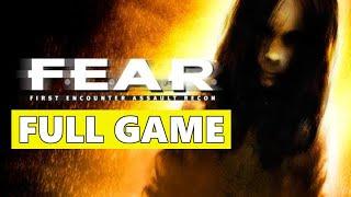 FEAR 1 Full Walkthrough Gameplay - No Commentary (PC Longplay)