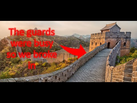 What Is Really Under The Great Wall Of China - Vlog