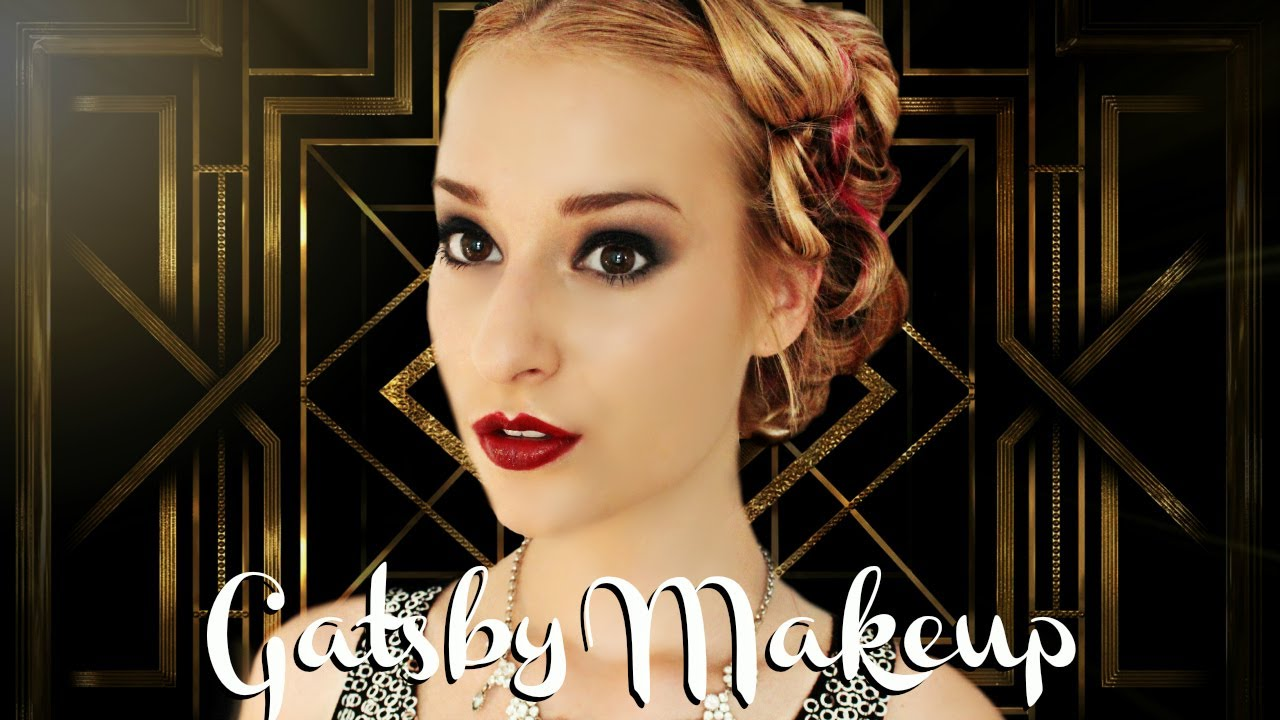1920s Gatsby Makeup And Hair YouTube