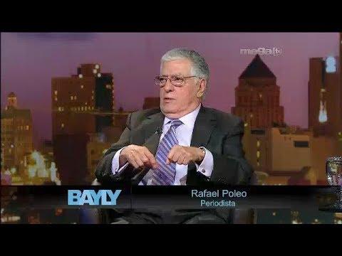 Jaime Bayly entrevista a Rafaél Poleo.