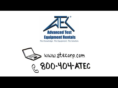 Advanced Test Equipment Rentals Animation