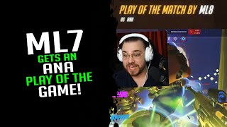 mL7 Gets An Ana Play Of The Game! - Overwatch Streamer Moments Ep. 541