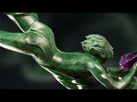Luxury Jade Gemstone Sculptor: Lyle Sopel