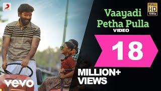 Kanaa - Vaayadi Petha Pulla Video | Arunraja Kamaraj | Dhibu Ninan Thomas