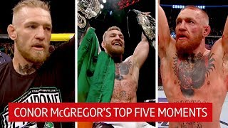 Conor McGregor's top five UFC moments inside the octagon