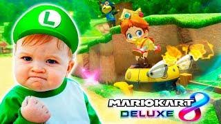 LA REVOLUCIÓN DE LOS BEBÉS EN MARIO KART 8 DELUXE | Nintendo Switch