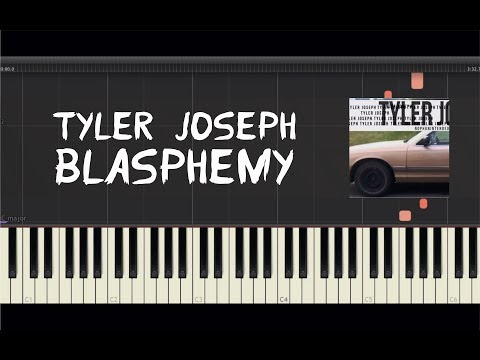 Tyler Joseph - Blasphemy - Piano Tutorial By Amadeus (Synthesia)