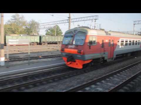 Прибытие поезда №318Б Барановичи - Караганды на ст. Ряжск-1