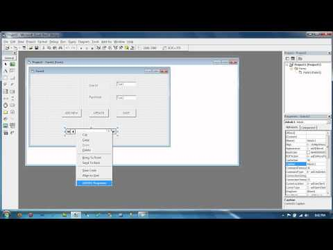 How to use ADODC Control in vb 6 0