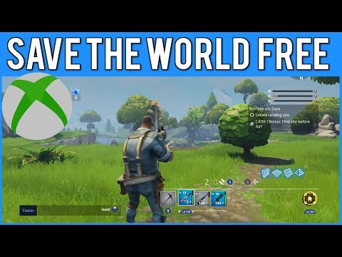 *WORKING* HOW TO GET SAVE THE WORLD FOR FREE ON XBOX ONE!