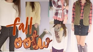 OUTFITS OF THE WEEK: NOVEMBER 2017! fall outfits for school