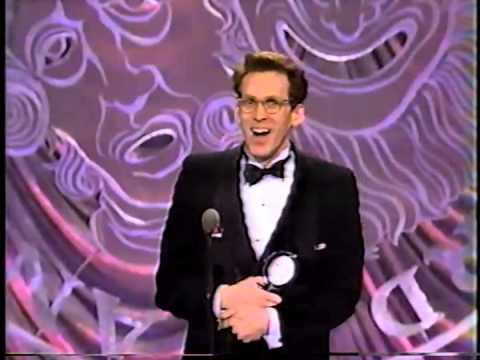 Stephen Spinella wins 1993 Tony Award for Best Featured Actor in a Play