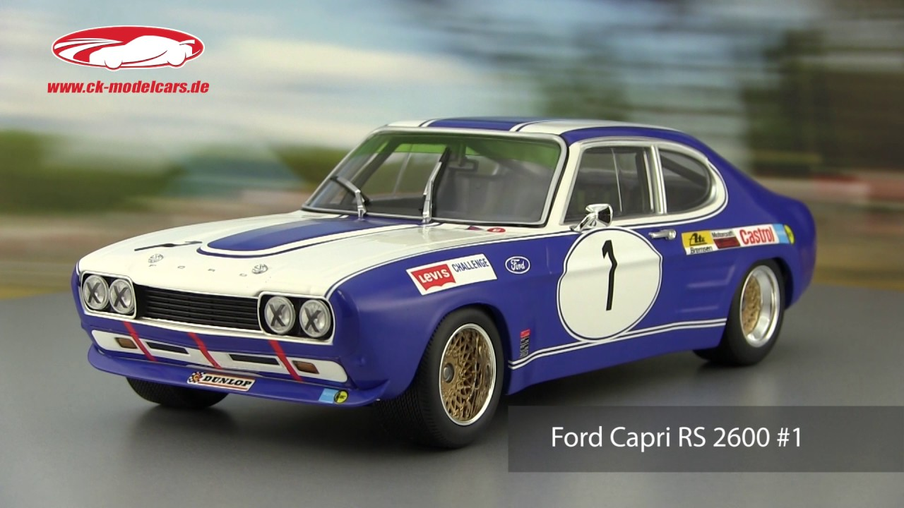 ck modelcars video ford capri rs 2600 1 winner brno etc. Black Bedroom Furniture Sets. Home Design Ideas