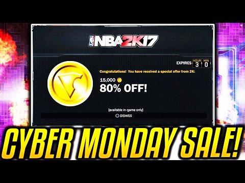 CYBER MONDAY DEALS ON NBA 2K17!? VC SALE?!