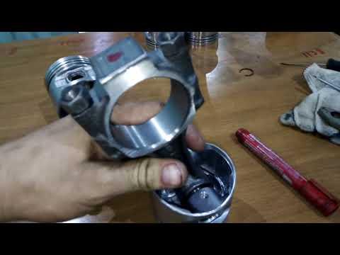 LADA GRANTA ремонт двигателя поршневая 2110