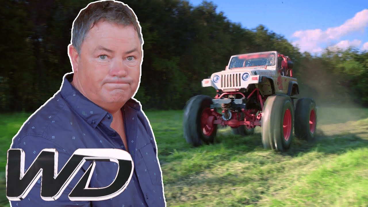 Mike Brewer Has Fun Driving A Texas Monster Truck! | Mike Brewer's World of Cars
