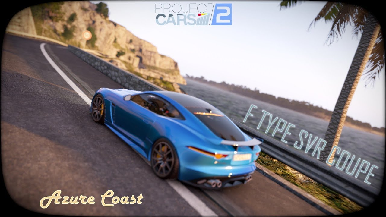 Project cars 2 jaguar f type svr azure coast wip - Project cars 4k wallpaper ...