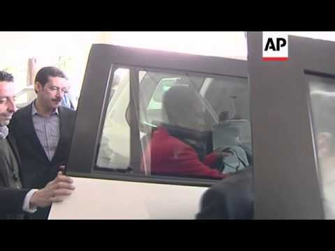 UN humanitarian chief Amos leaves hotel for meeting with Syrian officials