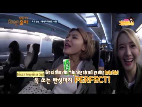 [Vietsub] 2015.08.26 SNSD Channel Yoona - NyamNyam TV Fake Eating Broadcast 🐣