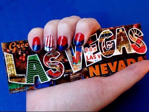DIY American Flag Nail Art Tutorial