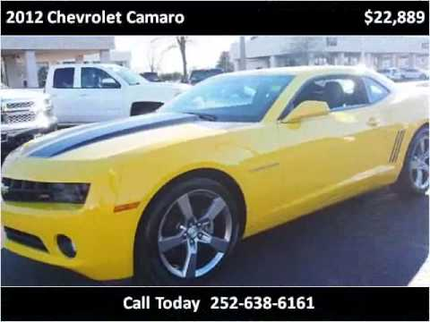 2012 chevrolet camaro used cars new bern nc youtube. Black Bedroom Furniture Sets. Home Design Ideas