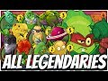ALL Legendary Cards Challenge - Grass Knuckles Deck | Plants vs Zombies Heroes Gameplay (7/22)