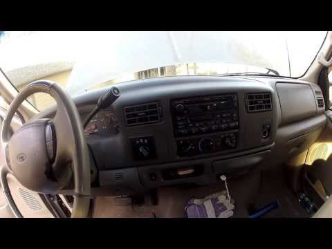 Ford F-250 stuck in defrost, problem solved