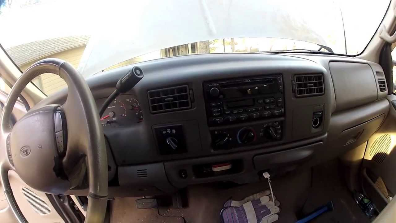 Ford F250 stuck in defrost, problem solved  YouTube