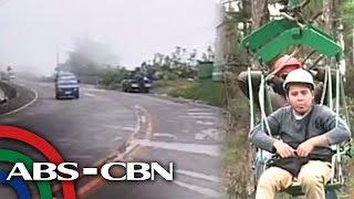 Temperatura sa Baguio, lalo pang bumaba