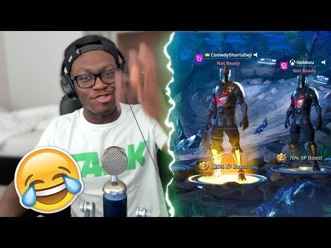 WHEN YOU PLAY WITH A BAD PLAYER (Fortnite Battle Royale)