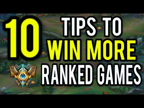 10 Tips To CARRY More Ranked Games As Mid - League of Legend
