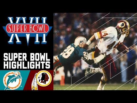 Super Bowl XVII: Dolphins vs. Redskins | NFL