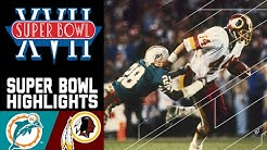 Super Bowl XVII: Dolphins vs. Redskins | NFL