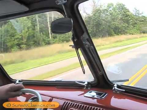 1957 Volkswagen 23-Window Samba Engine and Test Drive