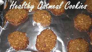 Crispy, Golden Brown Gluten Free Oatmeal Cookies Recipe