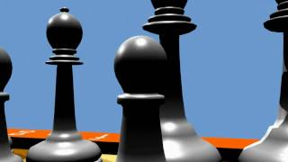 Blender: Animation 3D - Chess Table (HD)