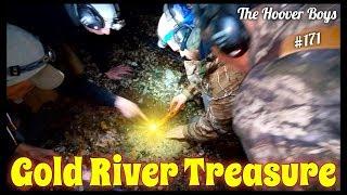 GOLD RIVER TREASURE!! Real Treasure Found Metal Detecting the River Beach