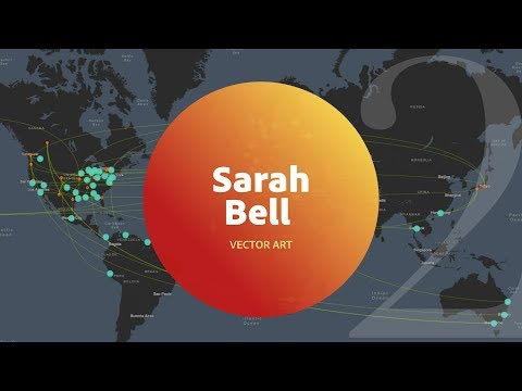 Live Vector Art with Sarah Bell from Esri 2 of 3
